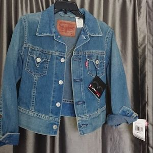 New Levi's jacket S Type 1 Jean junior USA factory